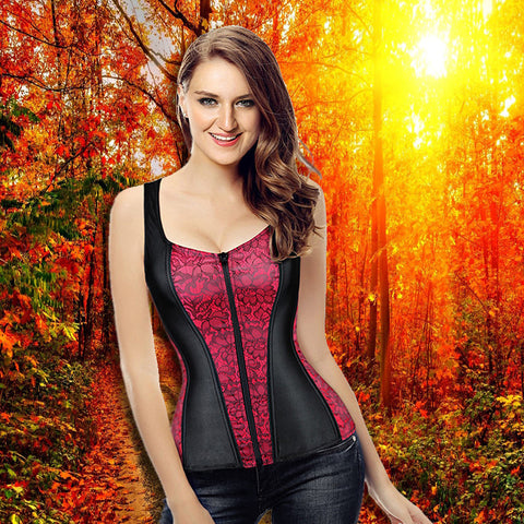 LACE AND SATIN CORSETS BODY