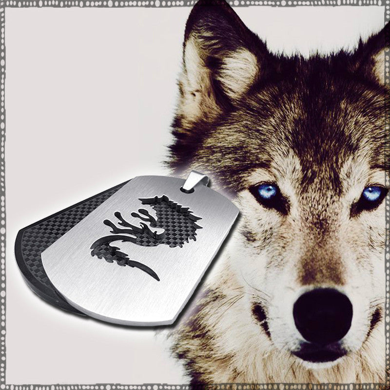 STAINLESS STEEL WOLF PENDANT**50% OFF**