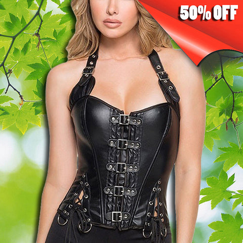 LINGERIE WOMEN CORSET WITH BUCKLES