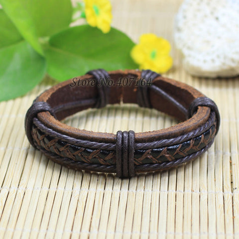 COW LEATHER BRACELETS (19 Models) **Free Just Pay Shipping**