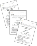 2019 VCE Mathematics Units 1&2 Examination PACK