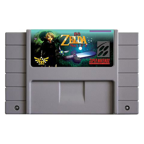 BS Zelda Map 1 & 2 Cartridge