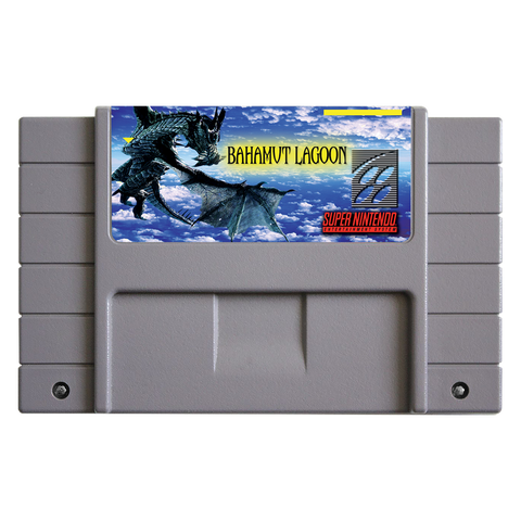 Super Nintendo Bahamut Lagoon Cartridge