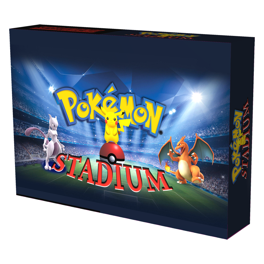 Pokémon Stadium (in box)