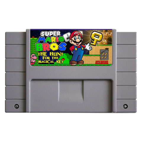 Super Mario Bros.: The Hunt for the Magical Key