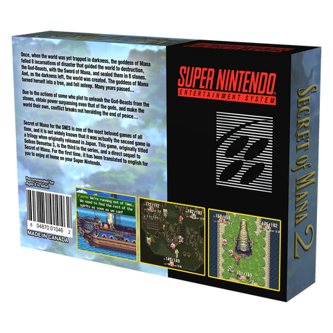 Secret of Mana 2 (in box)