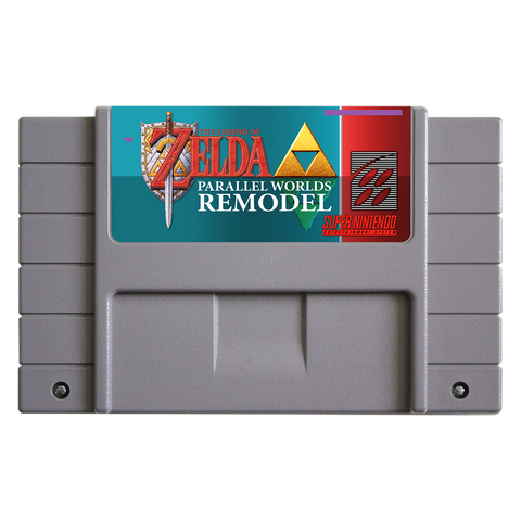 Zelda Parallel Worlds: Remodel