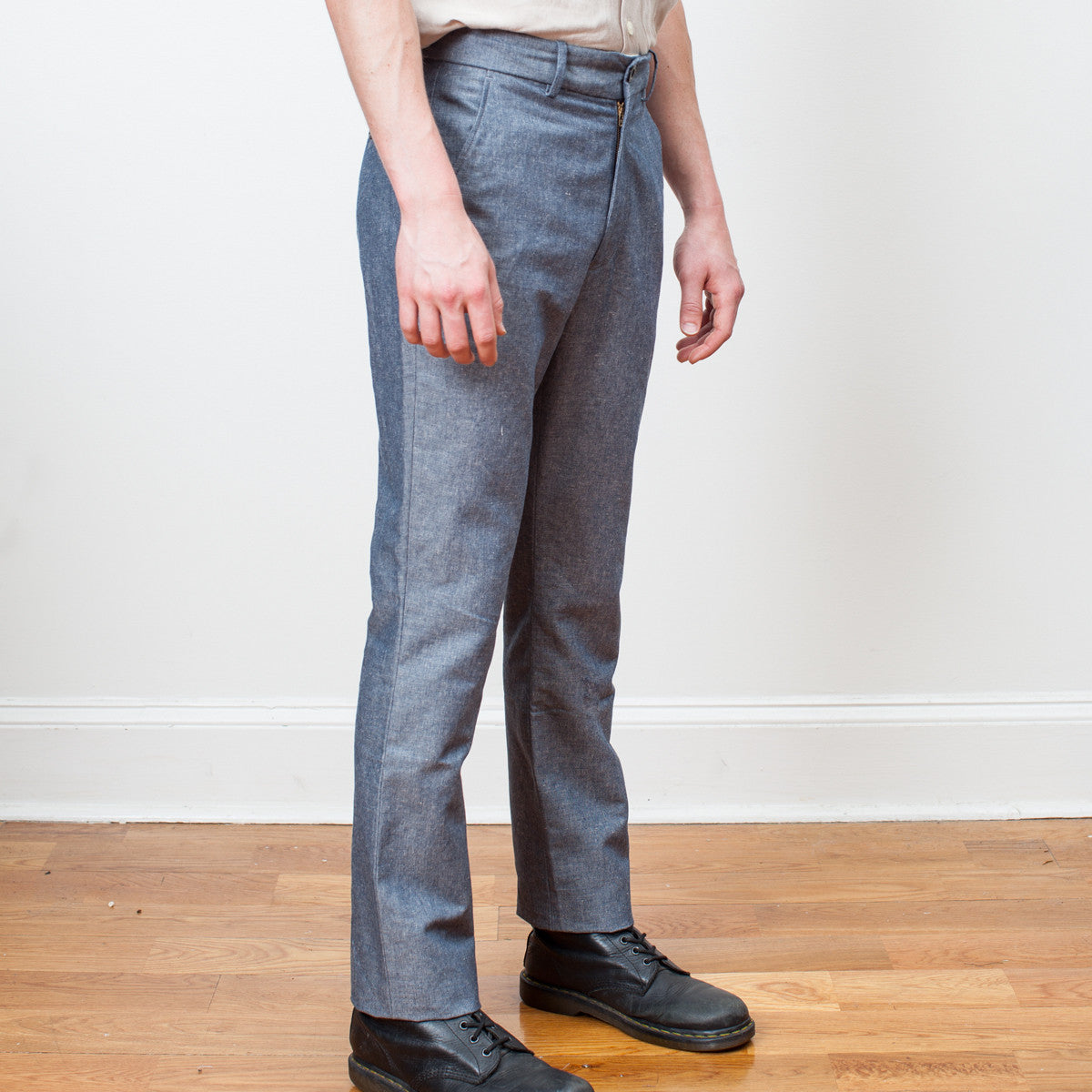 Brighton Trousers - Chambray