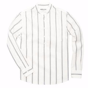 Cody Collarless Popover Shirt