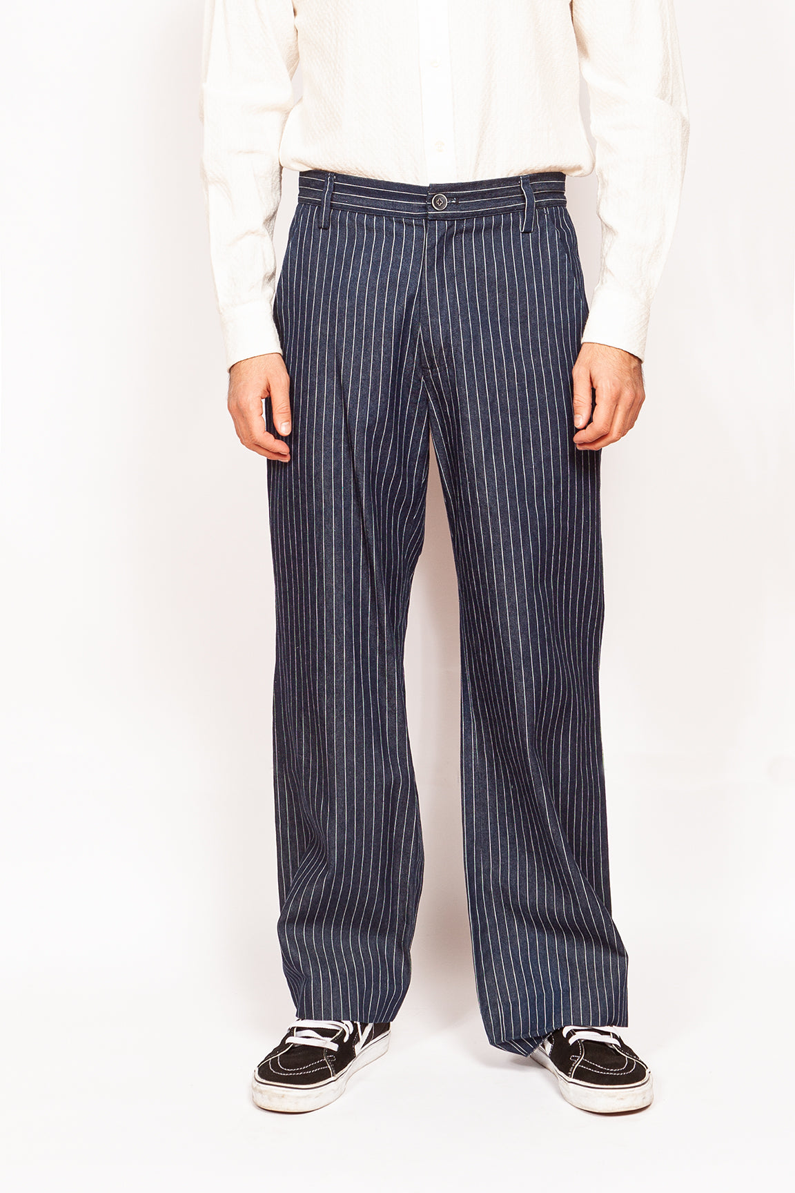 Bogart Trousers - Wide Leg Denim