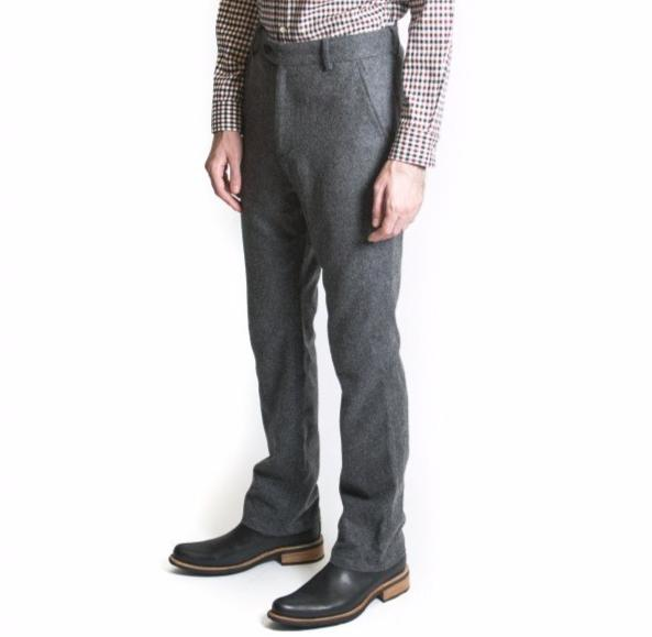 Gable Flannel Trouser