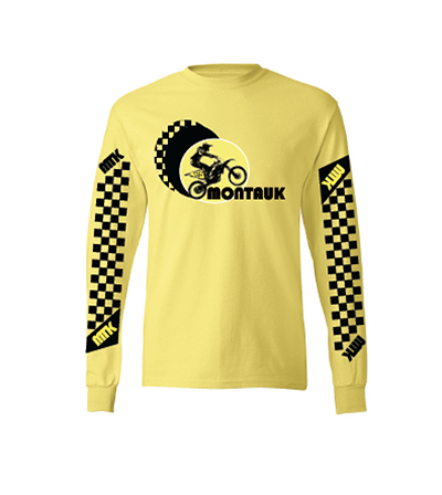 Montauk Yellow Long Sleeve T-Shirt