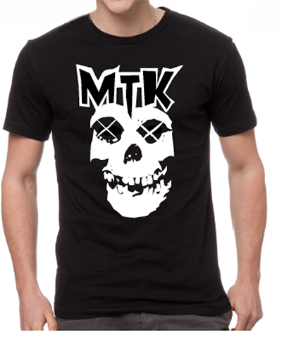MTK Men's Black T-Shirt