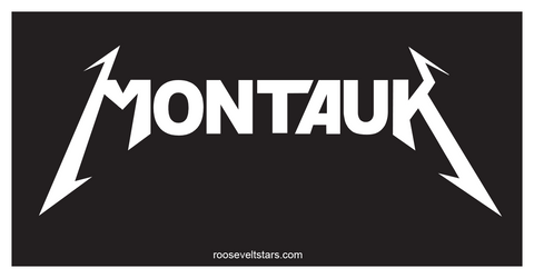 Montauk Sticker