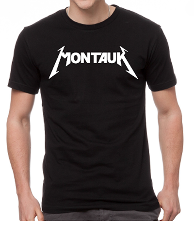 Montauk Men's Black T-Shirt