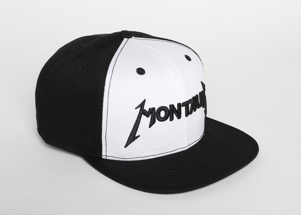 Montauk Black & White Hat