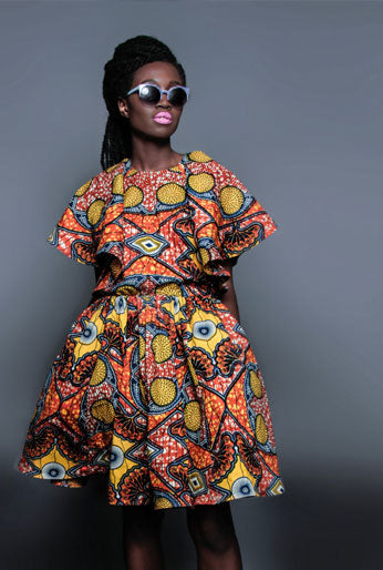 African Fabrics by Julius Holland