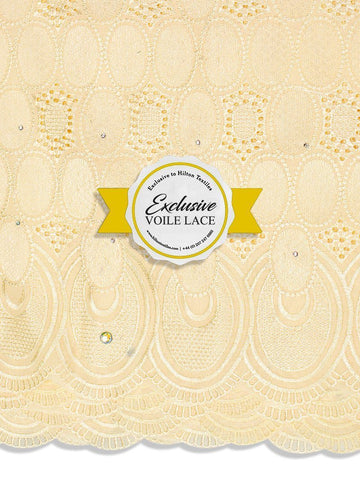 Brand New Voile Lace Exclusive | 100% Cotton - VL63