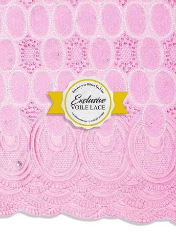 Brand New Voile Lace Exclusive | 100% Cotton - VL64