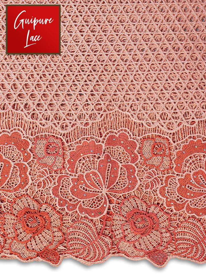 Guipure Lace - GL0470 - NEW!