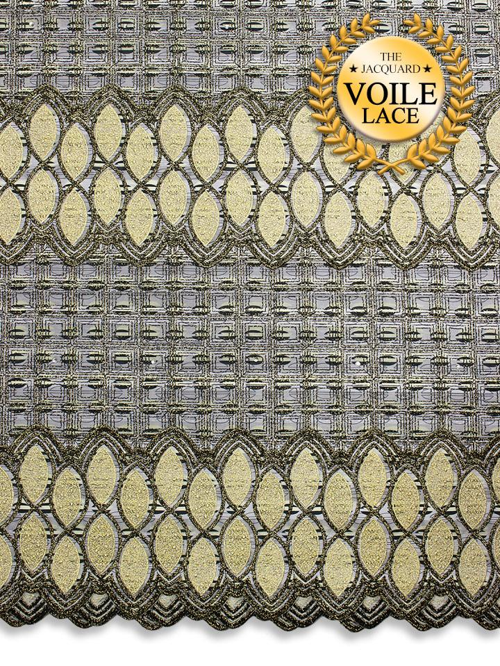 High Quality Jacquard Voile Lace - JVL211