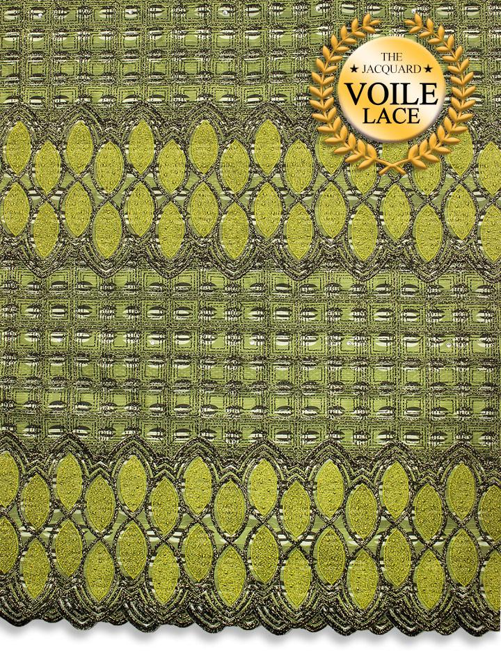High Quality Jacquard Voile Lace - JVL218