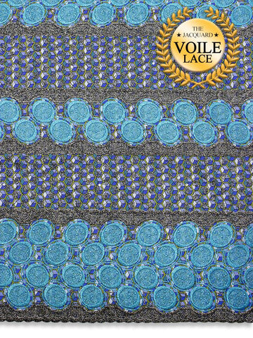 High Quality Jacquard Voile Lace - JVL220