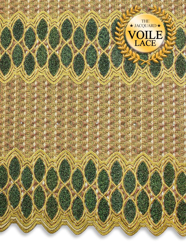 High Quality Jacquard Voile Lace - JVL223