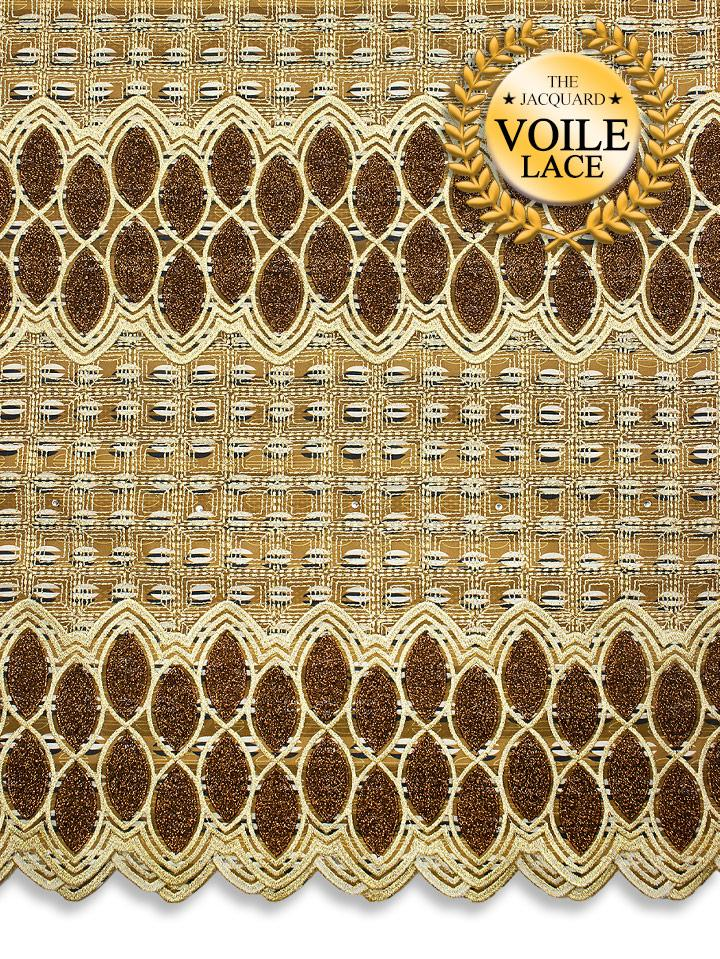 High Quality Jacquard Voile Lace - JVL225