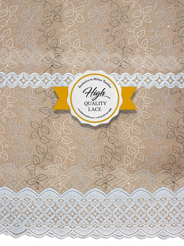 High Quality Swiss Voile Lace Exclusive - HQVLS433
