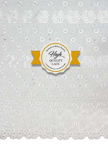 High Quality Swiss Voile Lace Exclusive - HQVLS442