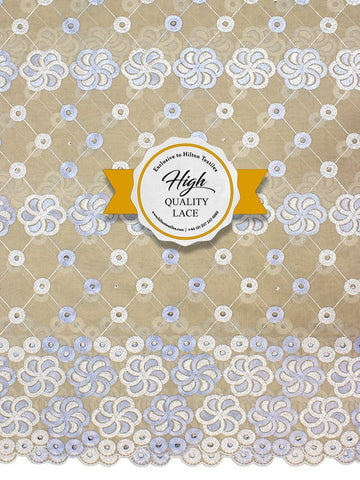 High Quality Swiss Voile Lace Exclusive - HQVLS443