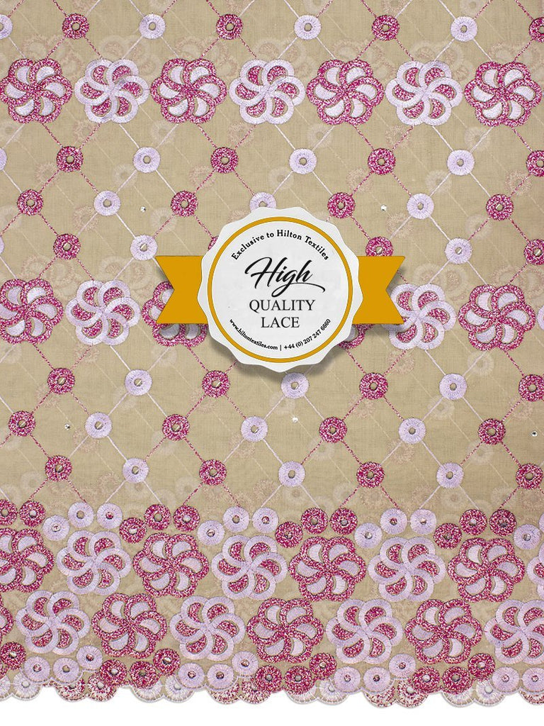 High Quality Swiss Voile Lace Exclusive - HQVLS444