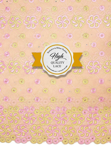 High Quality Swiss Voile Lace Exclusive - HQVLS445