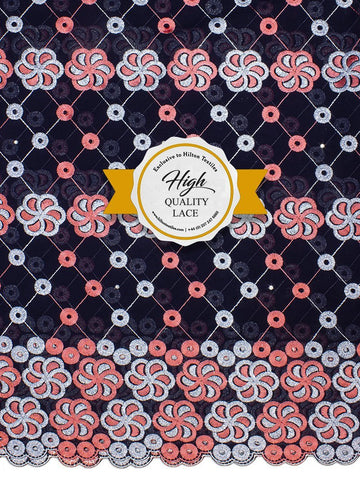High Quality Swiss Voile Lace Exclusive - HQVLS449
