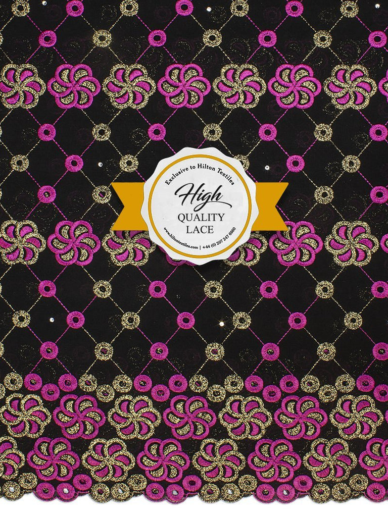 High Quality Swiss Voile Lace Exclusive - HQVLS450