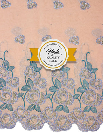 High Quality Swiss Voile Lace Exclusive - HQVLS430