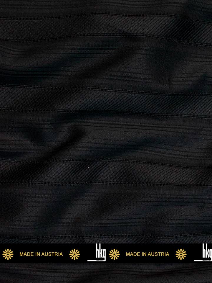 HKG Swiss Voile in Black - HKGV183 - 5 Yards