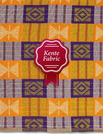 Holland Kente Ghana Fabric - NEW! KG0026