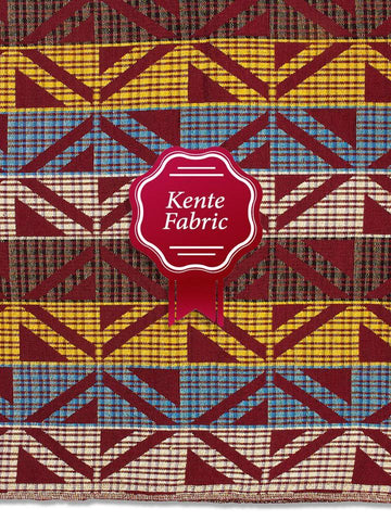 Holland Kente Ghana Fabric - NEW! KG0028