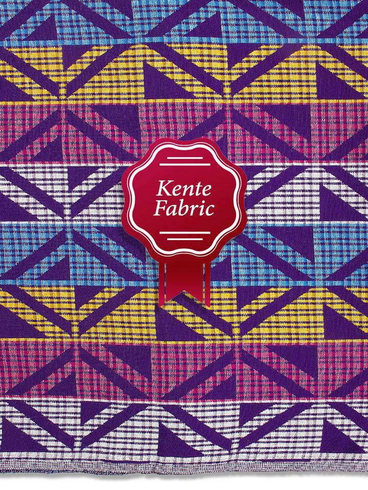 Holland Kente Ghana Fabric - NEW! KG0029