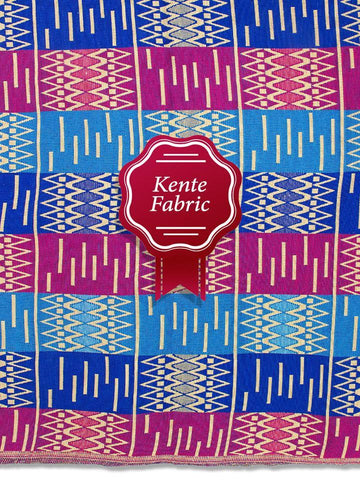 Holland Kente Ghana Fabric - NEW! KG0030