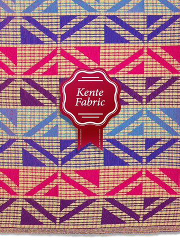 Holland Kente Ghana Fabric - NEW! KG0031