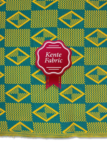 Holland Kente Ghana Fabric - NEW! KG0032