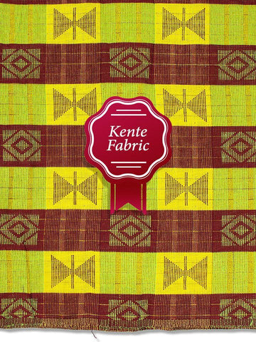 Holland Kente Ghana Fabric - NEW! KG0033