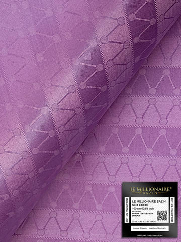 Le Millionaire Brocade - 5 Meters - Bouquet Purple - LMBB315