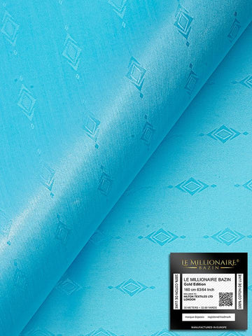 Le Millionaire Brocade - 5 Meters - Turquoise Blue - LMBB307