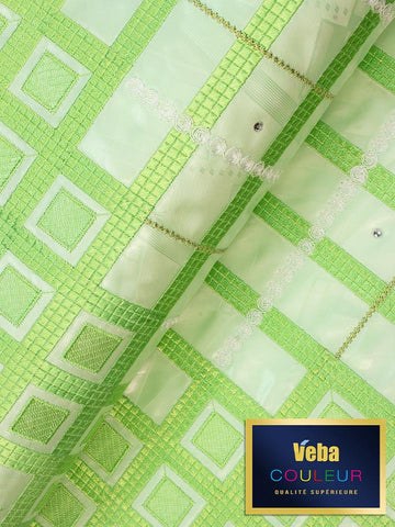Veba Couleur Brocade Lace in 5 Yards VCBL0102 - NEW!