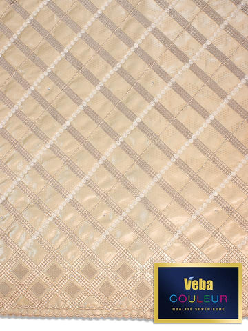 Veba Couleur Brocade Lace in 5 Yards VCBL0103 - NEW!