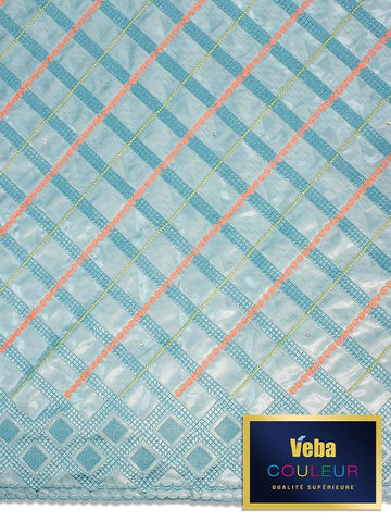 Veba Couleur Brocade Lace in 5 Yards VCBL0107 - NEW!